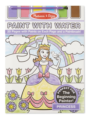 Princess Paint with Water Kids' Art Pad