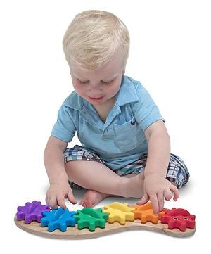 Caterpillar Gears Toddler Toy