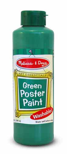 Green Poster Paint