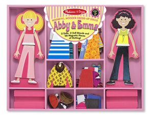 Abby & Emma Magnetic Dress-Up Set
