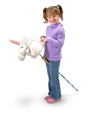 Prance-N-Play Stick Unicorn