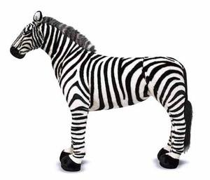 Zebra Giant Stuffed Animal
