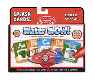 Water WOW! Alphabet Cards - ON the GO Travel Activity
