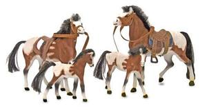 Collectible Horse Family Play Set
