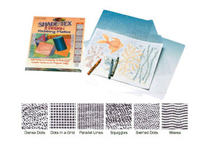 Scratch Art Shade-Tex Rubbing Plates - Original Design Set