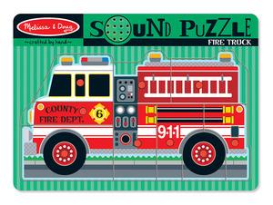 Fire Truck Sound Puzzle - 9 Pieces