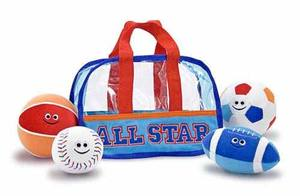 Sports Bag Fill & Spill