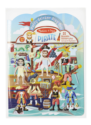 Puffy Stickers Play Set: Pirate