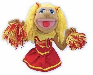 Cheerleader Puppet