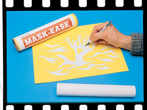 Scratch Art Mask-Ease (10