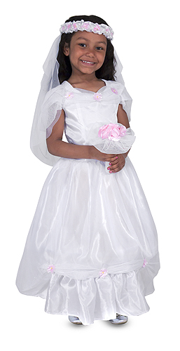 Bride Role Play Costume Set