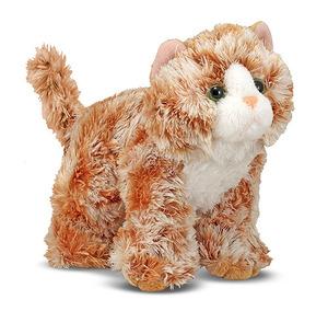 Trixie Orange Tabby Kitten Stuffed Animal