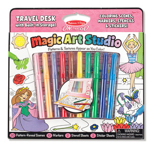 Magic Art Studio Pink - ON the GO Travel Activity