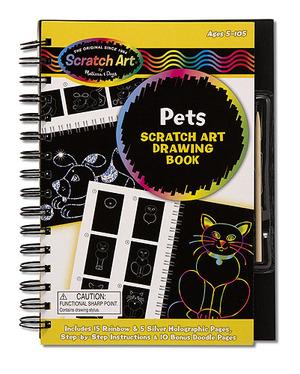 Scratch Art® Drawing Book - Pets