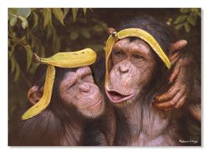 Cheeky Chimps Cardboard Jigsaw - 60 Pieces