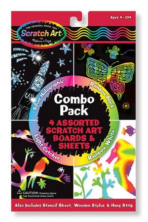 Scratch Art® Combo 4-Pack