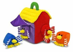 Bird House Shape Sorter