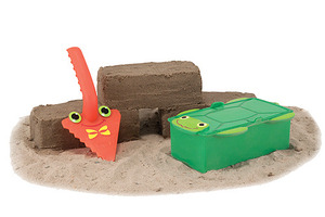 Seaside Sidekicks Brick Building Sand Toy