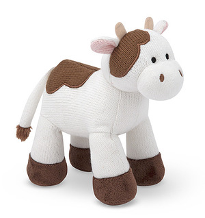 Sweater Sweetie Cow Stuffed Animal