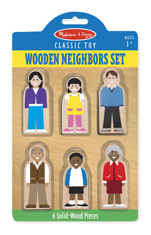 Wooden Classic Neighborhood Set
