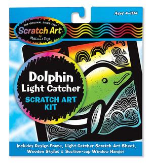 Scratch Art® Dolphin Light Catcher Kit