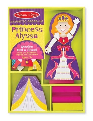 Princess Alyssa Magnetic Dress-Up Set