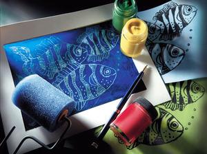 Scratch Art Scratch-A-Print 2