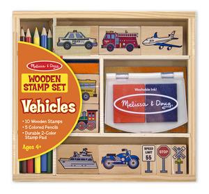 Vehicles Stamp Set
