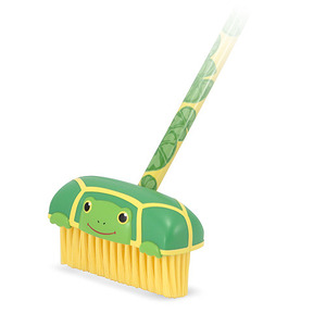 Tootle Turtle Kids' Push Broom