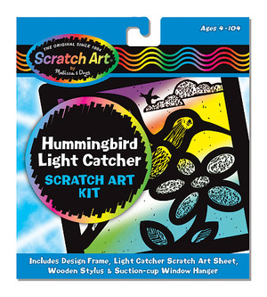 Scratch Art® Hummingbird Light Catcher Kit
