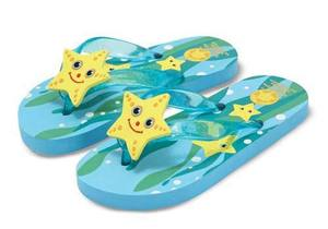 Cinco Starfish Flip-Flops Size 6-7