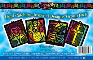 Scratch Art Inspired Designs; Light Catcher Group Pack