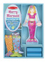 Mermaid Magnetic Dress-Up Set