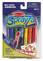 Sprayza No-Fuss Airbrush Tool and Pens - Fish Stencil Set