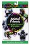 Scratch Art® Animal Friends Stickers