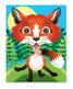 Make-a-Face Crazy Animals Sticker Pad