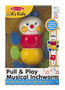 Pull & Play Musical Inchworm Baby Toy