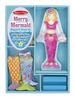 Merry Mermaid Magnetic Dress-Up Set