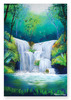 Woodland Waterfall Cardboard Jigsaw - 200 Pieces
