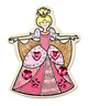 Decorate-Your-Own Wooden Princess Magnets