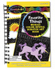 Scratch Art Mosaic Color-Reveal Book -   Favorite Things