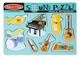 Musical Instruments Sound Puzzle - 8 Pieces