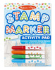 Stamp Marker Activity Pad - Blue