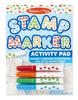 Stamp Marker Activity Pad - Blue