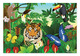 Wildlife Jubilee Cardboard Jigsaw - 100 Pieces