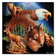 King of the Mountain Cardboard Jigsaw - 500 Pieces