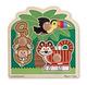 Rainforest Friends Jumbo Knob Puzzle - 3 pieces