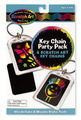 Scratch Art Party Pack - Key Chains