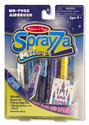 Sprayza No-Fuss Airbrush Tool and Magic Pens