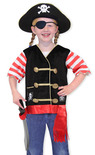 Pirate Role Play Costume Set